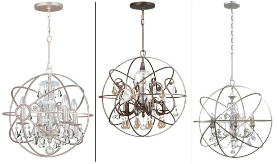 Solaris Collection from Crystorama – Crystorama Chandeliers