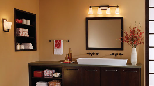 Bathroom lighting tips, ceiling lights, recessed lights | Lightstyle ...