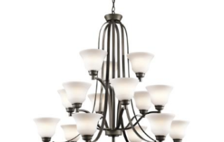 the langford collection 15 light led chandelier