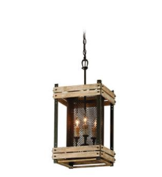 Troy Lighting Merchant Street Three-Light Pendant