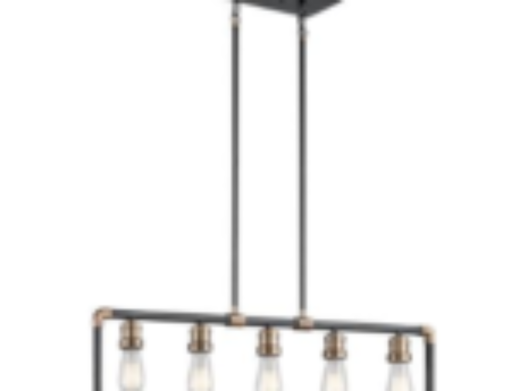 Three Industrial Light Fixtures for both Vintage and Modern Kitchens